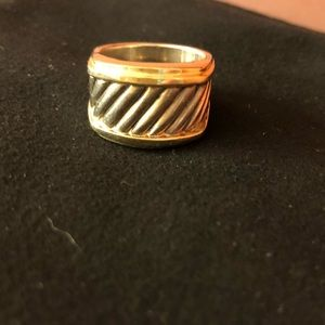 David yurman cigar band ring. Size 6
